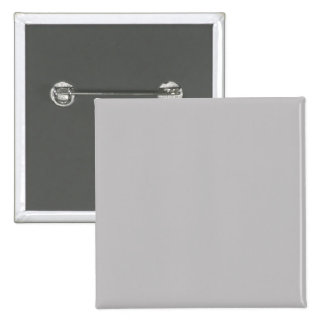 Dove Grey Gray Silver Solid Trend Color Background 15 Cm Square Badge