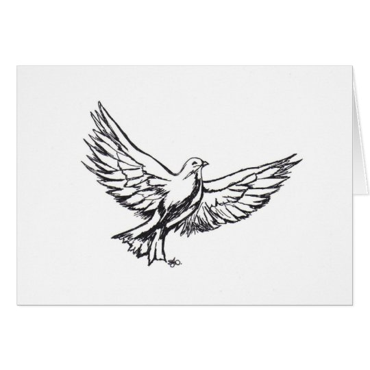 Dove Note Card