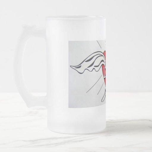 Dove of Love glass mug