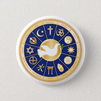 Dove of Peace 6 Cm Round Badge