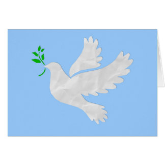 Dove of Peace Christmas Card