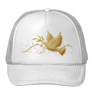 Dove of peace Christmas holidays elegant peak caps Cap