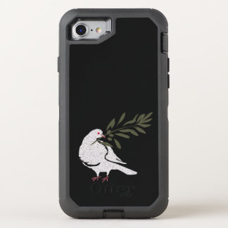 Dove of Peace OtterBox Defender iPhone 8/7 Case