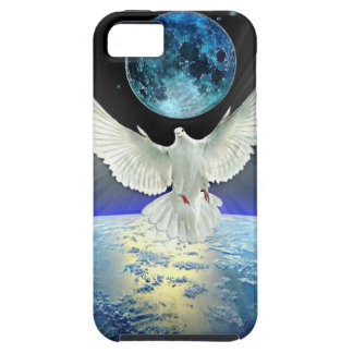 Dove of Peace over Earth from Space Case For The iPhone 5