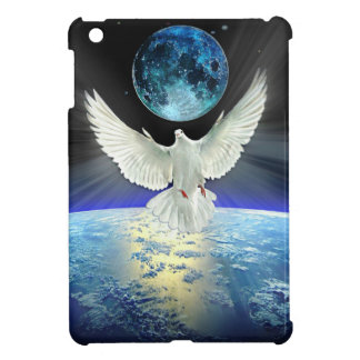 Dove of Peace over Earth from Space iPad Mini Case