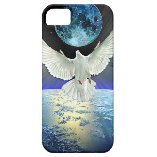 Dove of Peace over Planet Earth Sunrise Case For The iPhone 5
