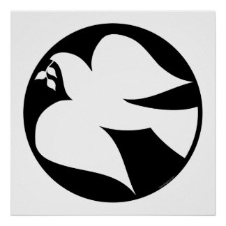 Dove of Peace Sign