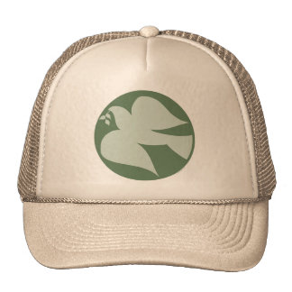 Dove of Peace Sign Cap