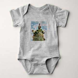 Dove on Saguaro  Baby Body Suit Baby Bodysuit