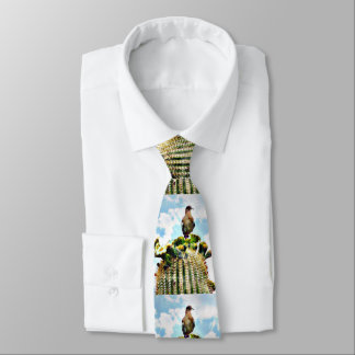 Dove On Saguaro Men's Tie