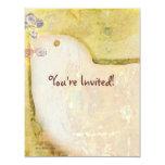 Dove Peace 11 Cm X 14 Cm Invitation Card