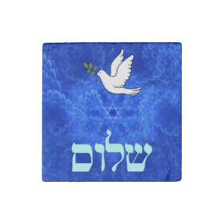 Dove - Shalom Stone Magnet