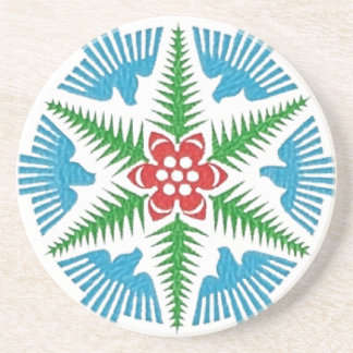 Dove Snowflake Coaster