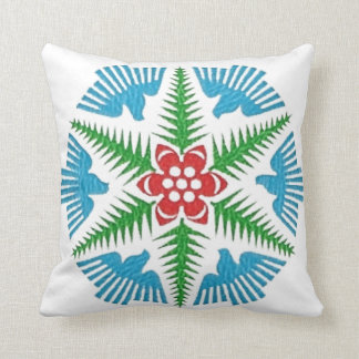 Dove Snowflake Pillow