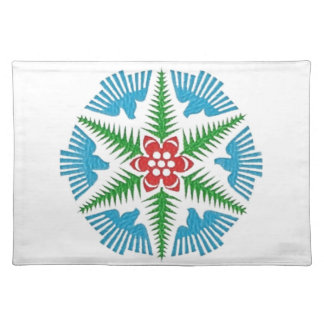 Dove Snowflake Placemat