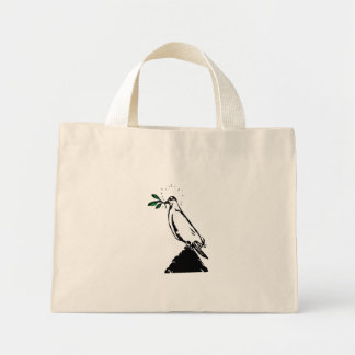 Dove With Branch Bag