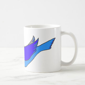 dove with branch mugs