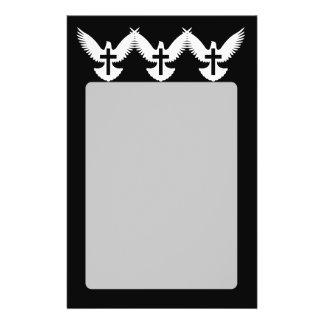 Dove with Cross 14 Cm X 21.5 Cm Flyer