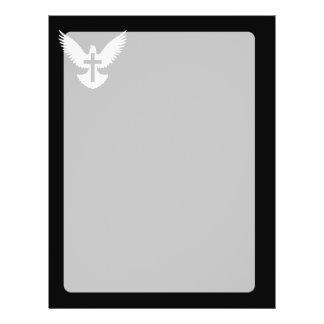 Dove with Cross 21.5 Cm X 28 Cm Flyer