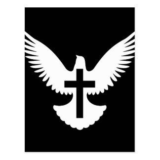 Dove with Cross Postcard
