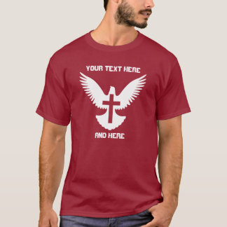 Dove with Cross T-Shirt