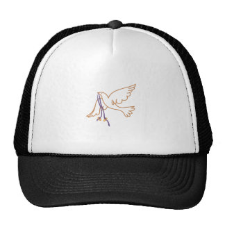 Dove with Rings Cap