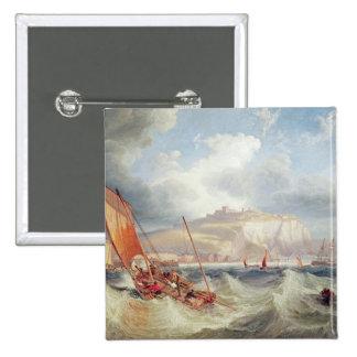 Dover, 1857 15 cm square badge