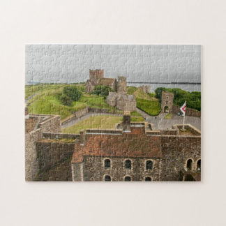 Dover Castle View Kent England Picture Jigsaw Jigsaw Puzzle