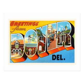 Dover Delaware DE Old Vintage Travel Postcard- Postcard