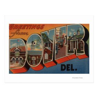 Dover, DelawareLarge Letter ScenesDover, DE Postcard