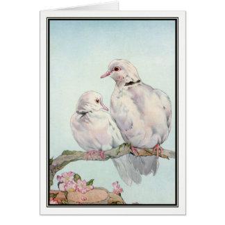 Doves by E. J. Detmold Card