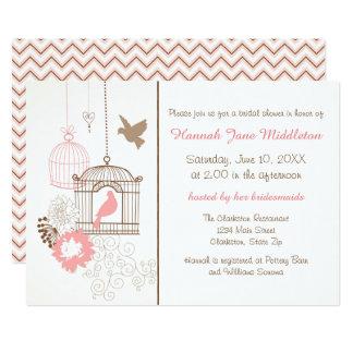 Doves & Cages - Bridal Shower Invitation