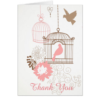 Doves & Cages - Note Card