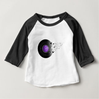 Doves Cry Record Baby T-Shirt