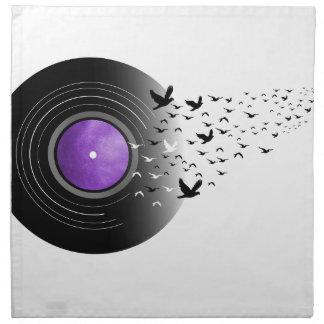 Doves Cry Record Napkin