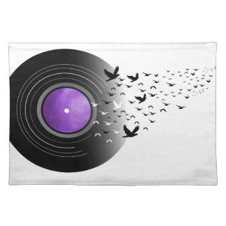 Doves Cry Record Placemat