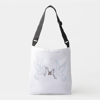 Doves golden Rings Tote