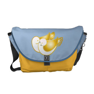 doves in love commuter bag