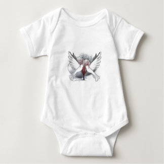 Doves Of Peace Baby Bodysuit