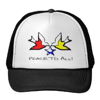 Doves Of Peace - Modern Christian Design Cap
