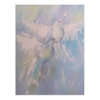 doves of Peace Postcard
