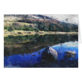Dovestone Reservoir Card