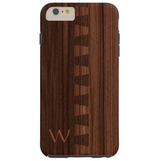Dovetail joint woodgrain pattern tough iPhone 6 plus case
