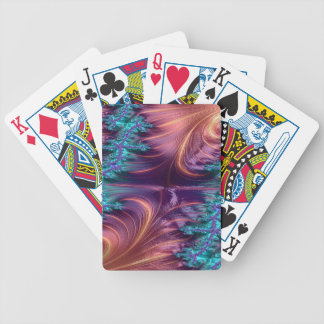 Dowdy Demon Fractal Bicycle Playing Cards