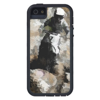 Down and Dirty! - Motocross Racer iPhone 5 Case