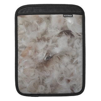 Down Comforter Feathers Photography Funny iPad Sleeve