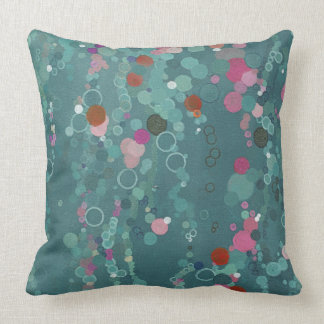 Down in the Lagoon Pillow by Margaret Juul.