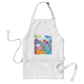 Down In The Ocean Apron