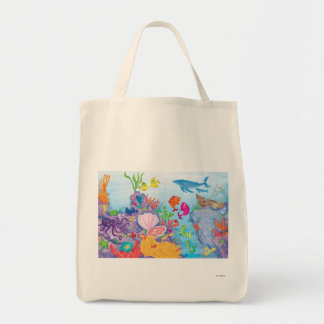 Down In The Ocean Canvas Bags