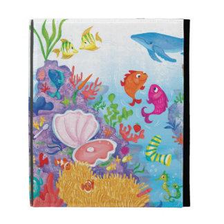 Down In The Ocean iPad Folio Case